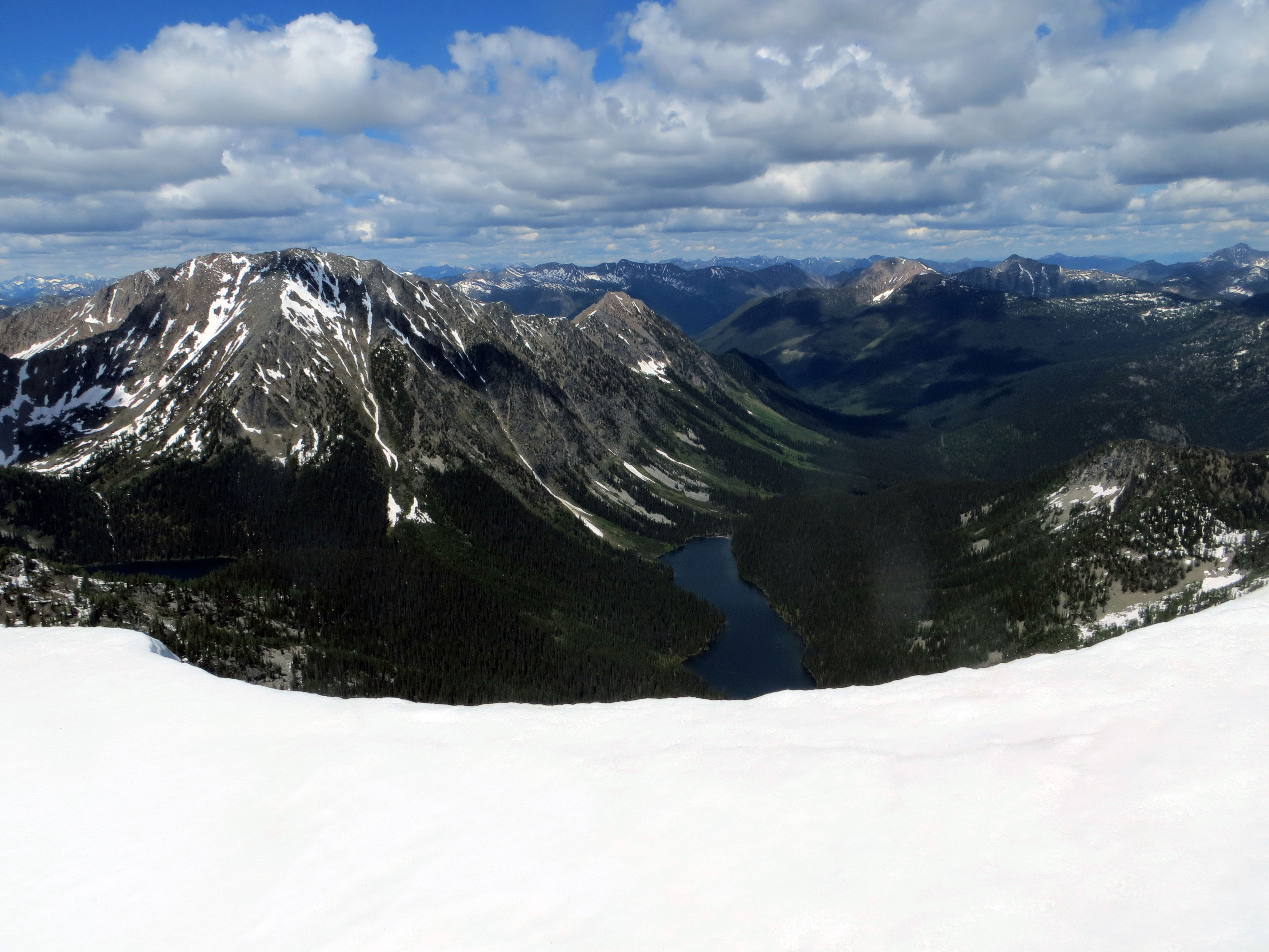 North From Haystack Mountain