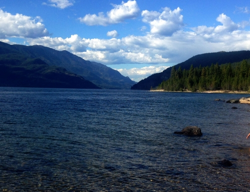 Garland Bay Recreation Site, Kootenay Lake BC